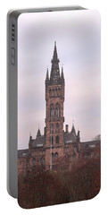 University Of Glasgow At Sunrise Portable Battery Charger