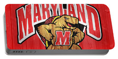 University Of Maryland Barn Door Portable Battery Charger