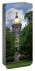 University Of Notre Dame Golden Dome Portable Battery Charger