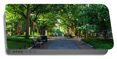 Portable Battery Charger featuring the photograph University Of Pennsylvania Campus - Philadelphia by Bill Cannon