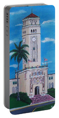 University Of Puerto Rico Tower Portable Battery Charger