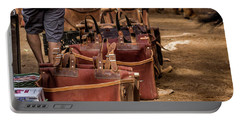 Unloading Mules At Phantom Ranch Portable Battery Charger