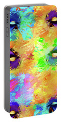 Portable Battery Charger featuring the digital art Unmasked by John Haldane