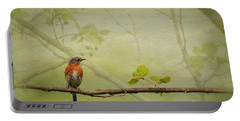 Until Spring Portable Battery Charger by Lois Bryan