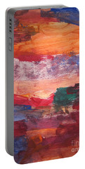 untitled 109 Original Painting Portable Battery Charger