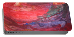 untitled 110 Original Painting Portable Battery Charger