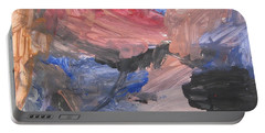 Untitled #7  Original Painting Portable Battery Charger