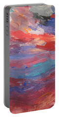 Untitled 96 Original Painting Portable Battery Charger