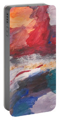 Untitled 98 Original Painting Portable Battery Charger