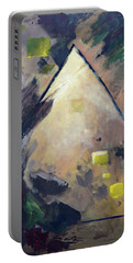 Untitled Abstract 730-17 Portable Battery Charger