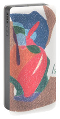 Untitled Abstract Portable Battery Charger by Rod Ismay