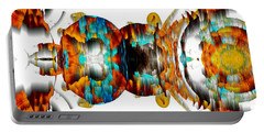 Portable Battery Charger featuring the digital art Untitled Series 992.042212 -b by Kris Haas