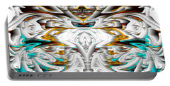 Portable Battery Charger featuring the digital art Untitled Series 992.042212 by Kris Haas