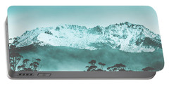 Untouched Winter Peaks Portable Battery Charger