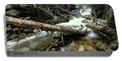 Up A Log Portable Battery Charger