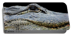 Portable Battery Charger featuring the photograph Up Close Not Comfortable by Rosalie Scanlon