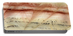 Up Close Painted Hills Portable Battery Charger by Greg Nyquist