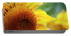 Up Close Sunflower Portable Battery Charger