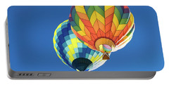 Up In A Hot Air Balloon Portable Battery Charger
