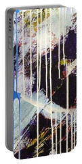 Portable Battery Charger featuring the painting Up In The Air by Sheila Mcdonald