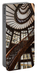 Up The Iconic Rookery Building Staircase Portable Battery Charger
