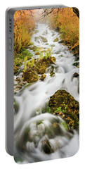 Upper Cascades At Cascade Springs Portable Battery Charger