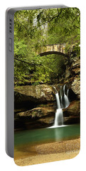 Upper Falls, Hocking Hills State Park Portable Battery Charger
