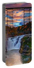 Upper Falls Letchworth State Park Portable Battery Charger