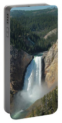 Upper Falls, Yellowstone River Portable Battery Charger