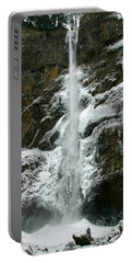 Upper Multnomah Falls Ice Portable Battery Charger