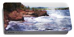 Upper Peninsula Landscape Portable Battery Charger