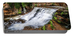 Upper Provo River Falls Portable Battery Charger