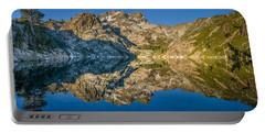 Upper Sardine Lake Panorama Portable Battery Charger