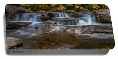 Upper Swift River Falls In White Mountains New Hampshire Portable Battery Charger
