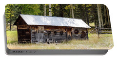 Uptop A Colorado Ghost Town Portable Battery Charger by Nadja Rider