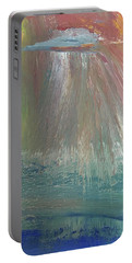 Downpour Portable Battery Charger by Karen Nicholson