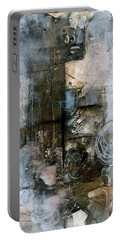 Urban Abstract Cool Tones Portable Battery Charger