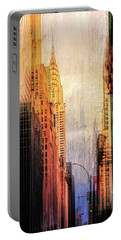 Urban Abstract Portable Battery Charger