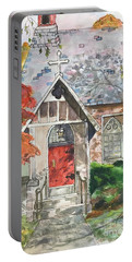 Urban  Church Sketching Portable Battery Charger