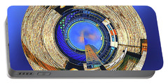 Portable Battery Charger featuring the digital art Urban Order by Wendy J St Christopher