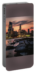 Portable Battery Charger featuring the photograph Urban Sunrise by Anthony Fields