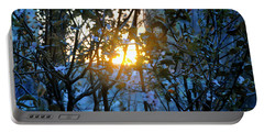 Portable Battery Charger featuring the photograph Urban Sunset by Sarah McKoy