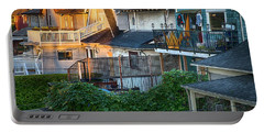 Portable Battery Charger featuring the photograph Urban Vancouver by Theresa Tahara