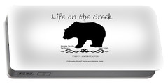 Ursus Americanus - Black Text Portable Battery Charger