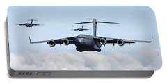 U.s. Air Force C-17 Globemasters Portable Battery Charger