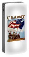 Us Army -- Guardian Of The Colors Portable Battery Charger