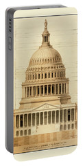 U.s. Capitol Building 1 Portable Battery Charger