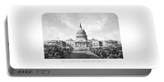 Us Capitol Building - Washington Dc Portable Battery Charger