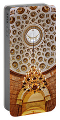 Portable Battery Charger featuring the photograph Us Capitol Rotunda Washington Dc by Susan Candelario