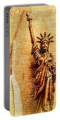 Us Constitution Portable Battery Charger